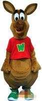 trajes de la mascota del canguro al por mayor-El traje especial de la mascota de Sr. Kangaroo de la aduana libera el envío