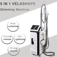 ролик pro оптовых-Pro 5in1 Vela Shape 40K кавитация velashape Вакуумный ролик для похудения тела руки тела уход за глазами