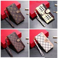Wholesale Brand designer flip wallet leather case phone case cover for iphone pro max Xs max Xr X PLUS PLUS PLUS