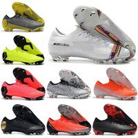 Wholesale vapor superfly for sale - Group buy With Bag Mens Low Ankle Football Boots LVL UP CR7 Mercurial Vapors XII VII Elite FG Soccer Shoes Superfly Neymar Soccer Cleats