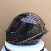 off r toptan satış-Agv Pista GP R REPLICA KASKı Tam Yüz Motosiklet Kask off-road kask motobike motokros kask (Çoğaltma-Orijinal değil)