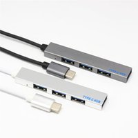 hub usb para laptop al por mayor-2019 Nuevo 4 en 1 USB 3.1 Tipo-C a HUB para Macbook Pro Laptop Phone
