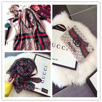 Wholesale wells springs resale online - Popular European and American spring and autumn silk scarves sell well free female scarf fashion x90cm free delivery