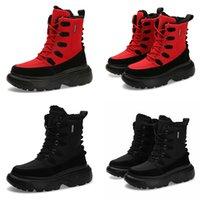 обувь для мужчин белый мальчик оптовых-2020 теплая гибкая мягкая зима дизайнер кружева type9 тройной белый черный красный человек мальчик мужские сапоги мужские кроссовки загрузки тренеры открытый обувь для ходьбы