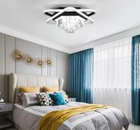 dekoratif sarkıt farları toptan satış-Modern LED Avize Kolye Işık Asma Tasarım Salon Işıklar Tavan Lambaları Home For Yatak Otel Dekoratif Kristal Avizeler