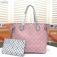 Wholesale lady s pink handbags resale online - New Hot Sale Fashion Handbags Women S Bags Handbags Wallet Woman Leather Bag Ladies Single Shoulder Bags