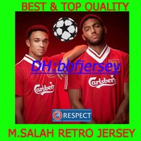 Wholesale football liver online - Thailand premier Soccer jerseys retro COUTINHO JERSEY VIRGIL M Salah JERSEY LALLANA MANE FIRMINO KLOPP liver CAMISETAS FOOTBALL SHIRTS