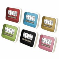 Wholesale timer digital electronics resale online - 5Colors Leading Life Practical Use Digital Large LCD Display Home Kitchen Timer Electronic Kitchen Cooking Timer Stopwatch
