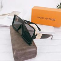 Wholesale jelly color sunglasses resale online - Designer Brand sunglasses High quality luxury Adumbral Glasses Colors Unique European and American jelly colored lenses sunglasses