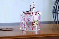 güzel akşam debriyajlar toptan satış-SCOTT saklama kutusu 2018 yeni şeffaf dekoratif kutu süper güzel süper sevimli GI0203 Kavramalar AKŞAM CÜZDAN KOMPAKT ÇARPMA