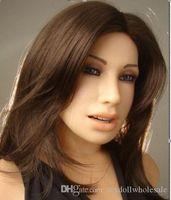 ingrosso bambola reale piena solida-Reale bambole Materiale silicone per gli uomini vendita calda 2015 le bambole del sesso giapponese in silicone solido entità piena di trasporto realistico vera bambola anale, girovaghi