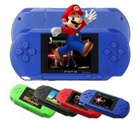 console de jogos pxp venda por atacado-156 Jogos CLassic 16 Bit PXP3 Handheld Console de videogame de TV PXP Jogadores de jogos de bolso para menino Crianças