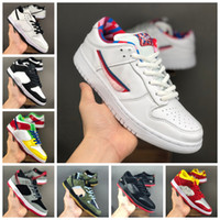 Wholesale sb running shoe resale online - Parra SB Dunk Dunks Low Concepts Purple Lobster Black Pigeon Womens Mens Running Shoes Skate Sports Designer Sneakers Trainers Size