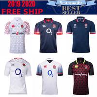 englisches trikot großhandel-2018 2019 STARTSEITE JERSEY RUGBY LEAGUE WORLD CUP 2019 Englische Rugby-Trikothemden Erwachsene Größe S-3XL