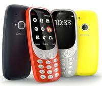 téléphones cellulaires gsm dual core achat en gros de-Remis à neuf Téléphone d'origine débloqué Nokia 3310 2017 3G WCDMA 2G GSM 2,4 pouces 2MP caméra Dual Sim