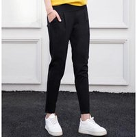 Wholesale pregnant pant for woman for sale - Group buy All Cotton Pants for Pregnant Women Bottom Trousers Slim Black Bottom Pants Spring Casual Trousers Autumn Trousers4