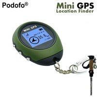 gps chinês ao ar livre venda por atacado-Podofo Novo Mini Handheld GPS Receptor de Navegação Localizador de Recarregável USB com Bússola Eletrônica para Viagens Ao Ar Livre