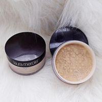 ingrosso scatole minerali-New Black box nude mineral laura mercier concealer cipria in polvere sciolto 3 colori 29g Face Powder