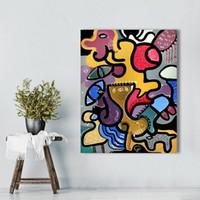 Wandbilder Für Wohnzimmer Leinwand Kunst Abstrakte Tier Malerei Picassos  Katze Frau Wohnkultur Landschaftsmalerei
