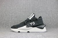 Wholesale y3 shoes resale online - 2018 Y QASA RACER Vista Grey Sneakers Breathable Men Women Running Shoes Couples Prophere Climacool Y3 ELLE STRETCH SAND Outdoor Trainers