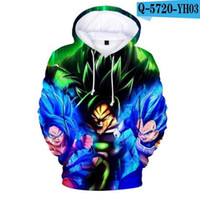 niños cool sudaderas al por mayor-Nuevos Enfriar Hoodies Dragon Ball Hooded kids / grils Sudaderas Casual Go Ku Sudadera Dragon Ball Hoodie para niños Polluvers Z Pocket Tops