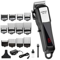 Wholesale professional rechargeable pet hair trimmer for sale - Group buy Powerful Electric Clipper Professional Cutter Men Cutting Machine Cordless Hair Trimmer Rechargeable Barber ToolMX190821