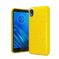Wholesale samsung case for girls for sale – best Glitter Case for Samsung Galaxy NOTE10 PRO A20 A30 A50 Motorola E6 G7 Play Hybrid Impact Resistant Women Girl Shockproof Drop Protection
