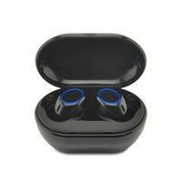 kostenlos huawei telefone großhandel-A2 TWS kabelloser Bluetooth-Kopfhörer mit Stereo-Freisprechfunktion und Bluetooth 5.0-Headset mit Ladekiste für das Xiaomi Huawei-Telefon