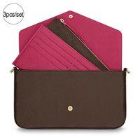 Wholesale 3pcs handbags for sale - Group buy designer luxury handbags purses High quality set designer shoulder brand bag brand fashion fashion designer bags Size cm