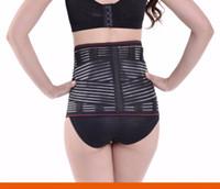 lumbale untere hintere taillenstützstrebe großhandel-Frauen Untere Rückenstütze Taille Gürtel Wirbelsäule Unterstützung Männer Gürtel Atmungsaktive Lendenkorsett Orthopädische Rückenstütze