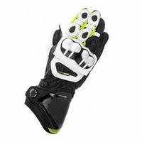 gerçek deri m toptan satış-Yeni 9 Renkler 100% Hakiki Deri GP PRO Motosiklet Uzun Eldiven MotoGP M1 Yarış Sürüş GP PRO Motosiklet Dana Eldiven