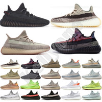 Wholesale ivory sneakers for sale - Group buy New Sneakers Kanye Zyon Linen Grey Gum Yeshaya Reflective Desert Sage Tail Light Cinder Yecheil Black Static Men Trainers Running Shoes US13