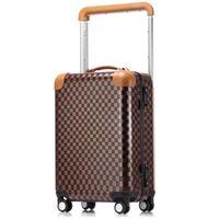 Wholesale luggage resale online - Hot New Women Men Trolley luggage bags trolley suitcase mala de viagem con ruedas Rolling luggage bag on wheels vs travel bags