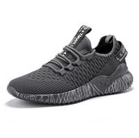 iş rahat iş ayakkabıları erkekler toptan satış-2019 Moda rahat kanvas erkekler ayakkabı Havalandırma Spor koşuyoruz düz ayakkabı kaymaz Dört Mevsim Ayakkabı Iş Işi Genç öğrenciler için O3321