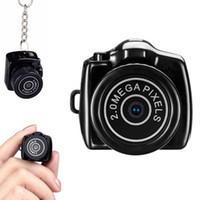 araba anahtar zinciri hareketi toptan satış-Mini Dijital DV Video Kaydedici Kamera Web Kamera DVR Kamera HD 1280x720