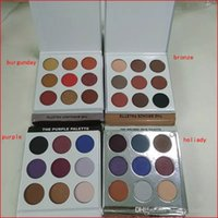Wholesale best color eyeshadow palette for sale - Factory direct sale Best Newest Color The Purple Palette Eyeshadow Fall collection Eye shadow Cosmetics Palette