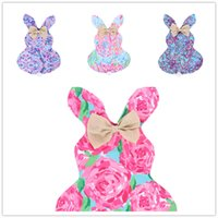 Wholesale cotton lace home decor for sale - Group buy Designer Garden Flags DIY Easter Bunny Banners Floral Pattern Rabbit Ear Plush Tail Bowknot Hanging Flags Home Yard Decor cm E11305