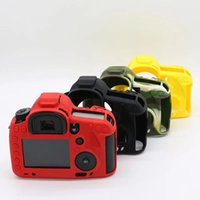Wholesale 5d cameras for sale - Group buy Soft Silicone Case Camera Protective Body Bag For eos d3 d Mark III DSR DS Rubber Cover Battery Openning Camera Bag