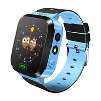 ingrosso bambino di vigilanza del bambino-Q528 Smart Watch bambini orologio da polso impermeabile bambino con fotocamera a distanza SIM chiamate regalo per KidsLocation dispositivo Tracker SmartWatch