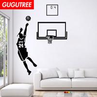 ingrosso basket adesivo rimovibile-Decorare casa basket art wall sticker decorazione Decalcomanie murale pittura rimovibile Wallpaper Decor G-1566