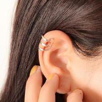 você gosta de brincos de forma venda por atacado-1 Pc Minimalista Estilo Oco em forma de U Ouvido Osso Clipe Brincos Invisíveis Sem Perfurado