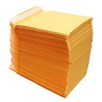 bolsa de escola de negócios venda por atacado-Kraft Bolha Mailers Acolchoados Envelopes Sacos De Envio Auto Selo de Alta Qualidade Bolha Envelope Saco de Escola de Negócios Material de Escritório