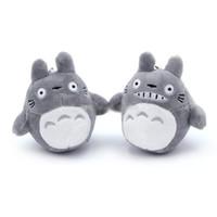 vecino totoro al por mayor-Mi vecino Totoro juguetes de peluche relleno mejores regalos de juguetes para los niños suave juguete para los niños y regalo de peluche colgante