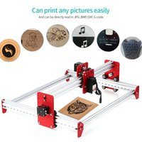 Wholesale free printers resale online - KKMOON A3 Laser Machine mw DIY Desktop Metal Frame Mini Laser Engraver DIY Engraving Machine Cutter Printer Free Ship