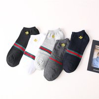 koreanisches neues produkt großhandel-Frauen Designer japanischen und koreanischen neuen Produkten Baumwolle Mode für Männer Boot Socken lässig niedrig, um flachen Mund Flut Sportsocken zu helfen