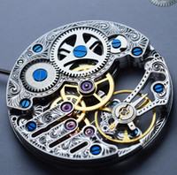Wholesale hand watches for men for sale - Group buy SKELETON HOLLOW CARVE ART ST3620 ST3600K SEAGULL HAND WIND MECHANICAL WATCH MOVEMENT for MEN WRISTWATCH REPAIR FIX watch accessory ETA