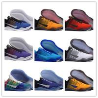 Wholesale best shoes for men resale online - 2020 Best Sale Colors XI Elite BHM Eulogy Black Cement Basketball Shoes For Cheap Promotion s Mens Trainers Sneakers Size