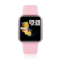 kablosuz fitness saati toptan satış-Moda Spor P90 Giyilebilir Akıllı İzle Bluetooth 4.0 kablosuz su geçirmez Nabız Tansiyon Paslanmaz Çelik Kayış Şarj