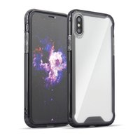 Wholesale new phone case models online – custom NEW styles Clear Acrylic Silicone iphone Cases For iPhone Plus XS XR MAX Samsung phone cover other models please conact u