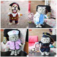 7a99305770b1f1 Funny Dog Cat Halloween Xmas Costumi Cosplay Boxer Doctor Nurse Cosplay Suit  Pet Abbigliamento Natale Festa di compleanno vestiti per cane Gatto